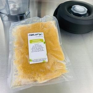 Commandez smoothie santé pommes et gingembre