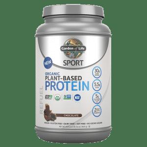 Protéine à base de plantes biologiques Garden of life au chocolat