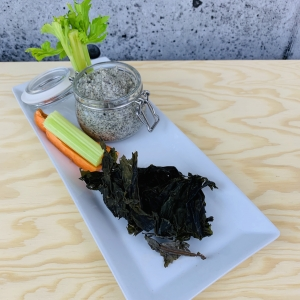 commandez trempette santé prêt à manger, césar, wakamé