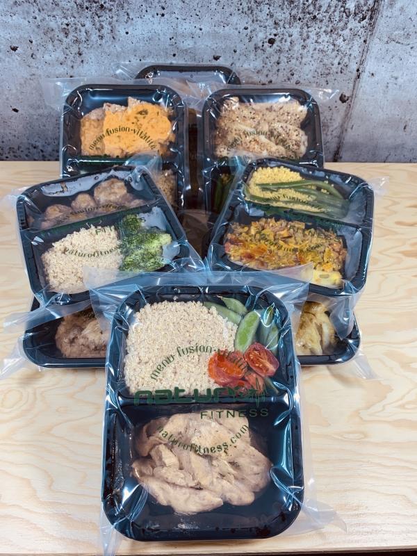 Commandez repas santé prêts à manger emballés sous-vide