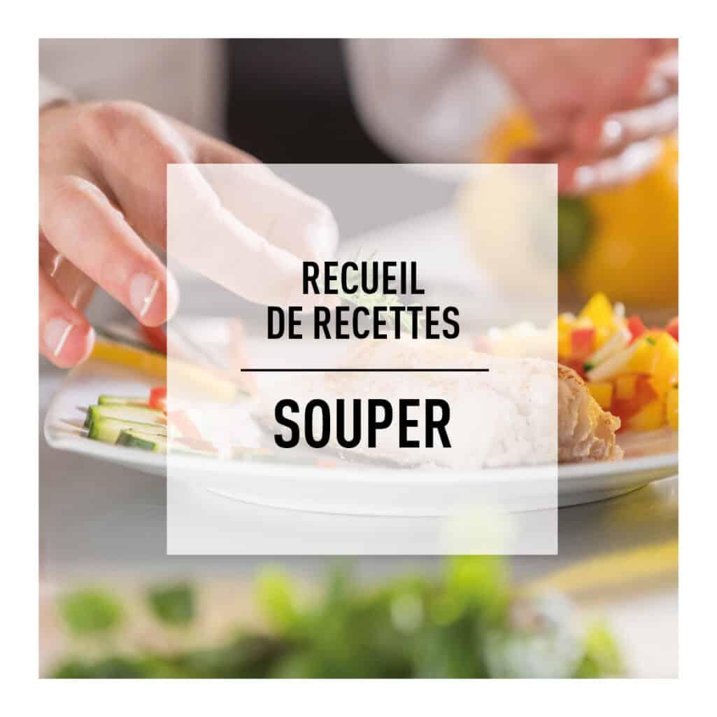 Recueil de recettes santé du souper protéiné