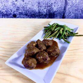 boulette porc et veau recette sante