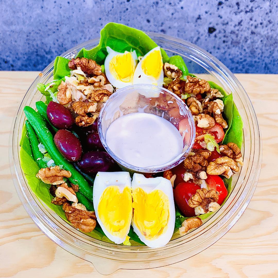 Commandez salade-repas santé prêt à manger niçoise