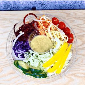 Commandez salade-repas santé prêt à manger vitalité