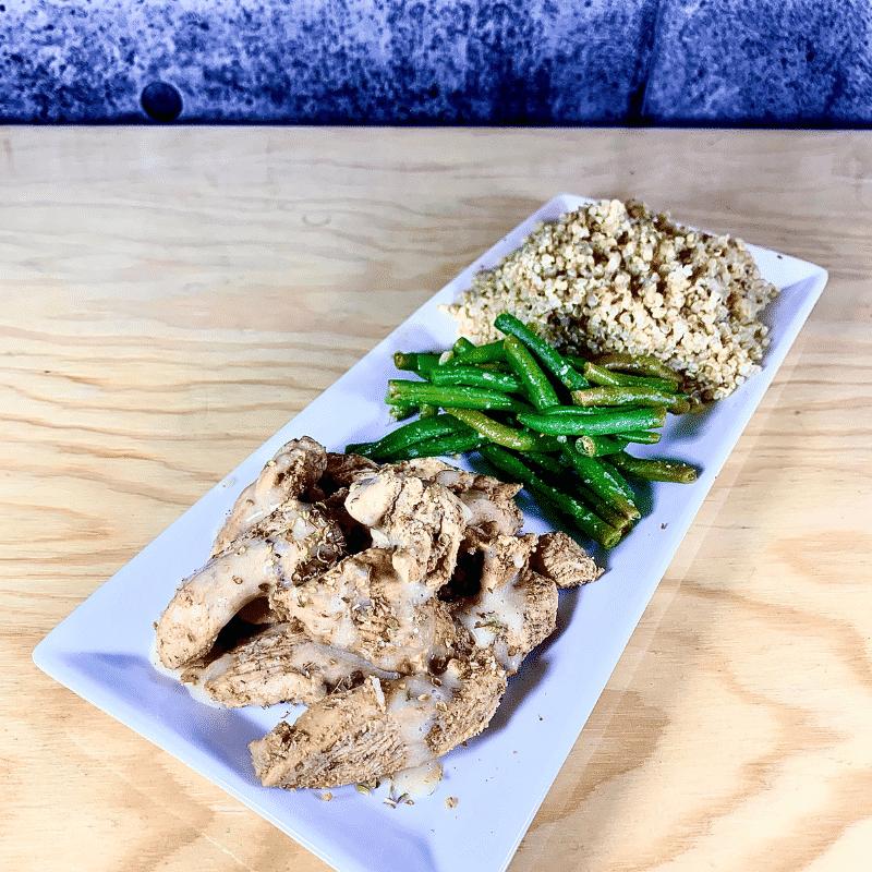 Commandez repas prêt à manger, poulet biologique libanais