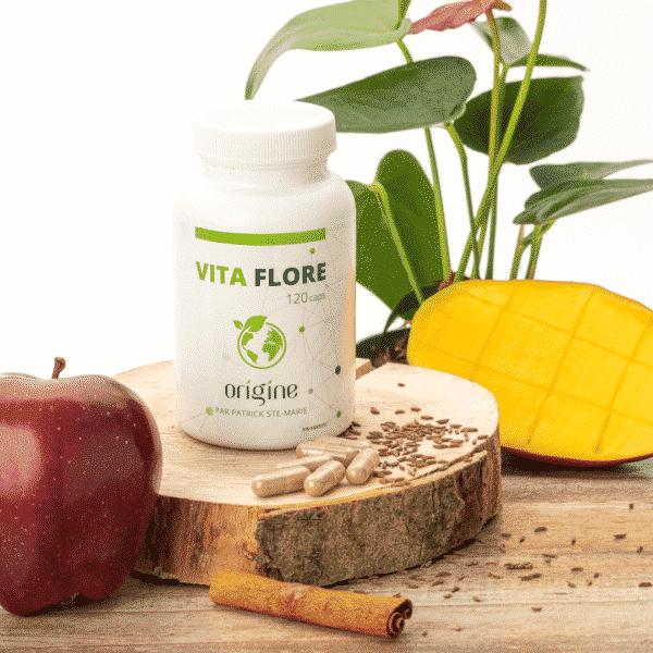 Commandez suppléments axés sur la santé digestive, de l'intestin, Vita-Flore en capsules