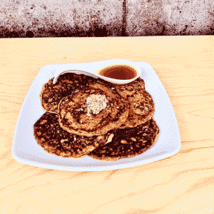 Commandez collation déjeuner santé crêpes de quinoa sans lactose et sans gluten