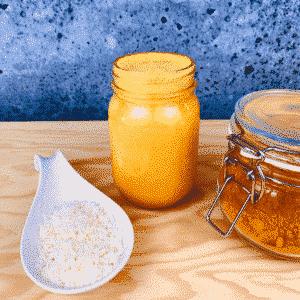 Commandez collation santé lait d'or curcuma