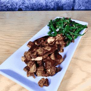 Commandez repas santé prêt à manger, saumon aubergine miso