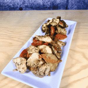 Commandez repas prêt à manger poulet biologique à l'Italienne