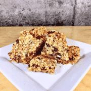 Commandez collation santé barres canneberges, noix de coco